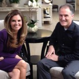 Dan Mulhern and Maria Shriver