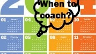 When to coach calendar