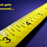 What gets measured tape