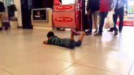 kid in the mall